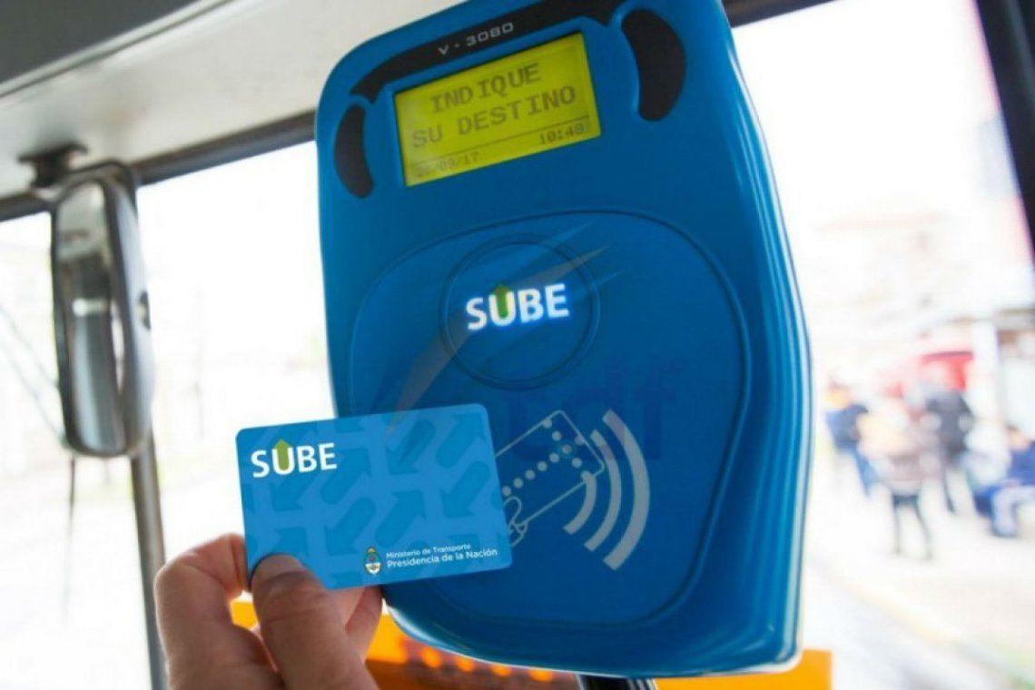Amplían el saldo negativo de la tarjeta SUBE a $72 para los exceptuados del aislamiento