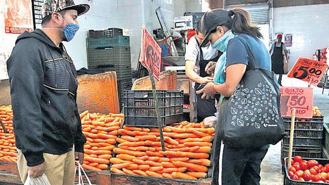 El Mercado Central busca regular los precios de frutas y verduras