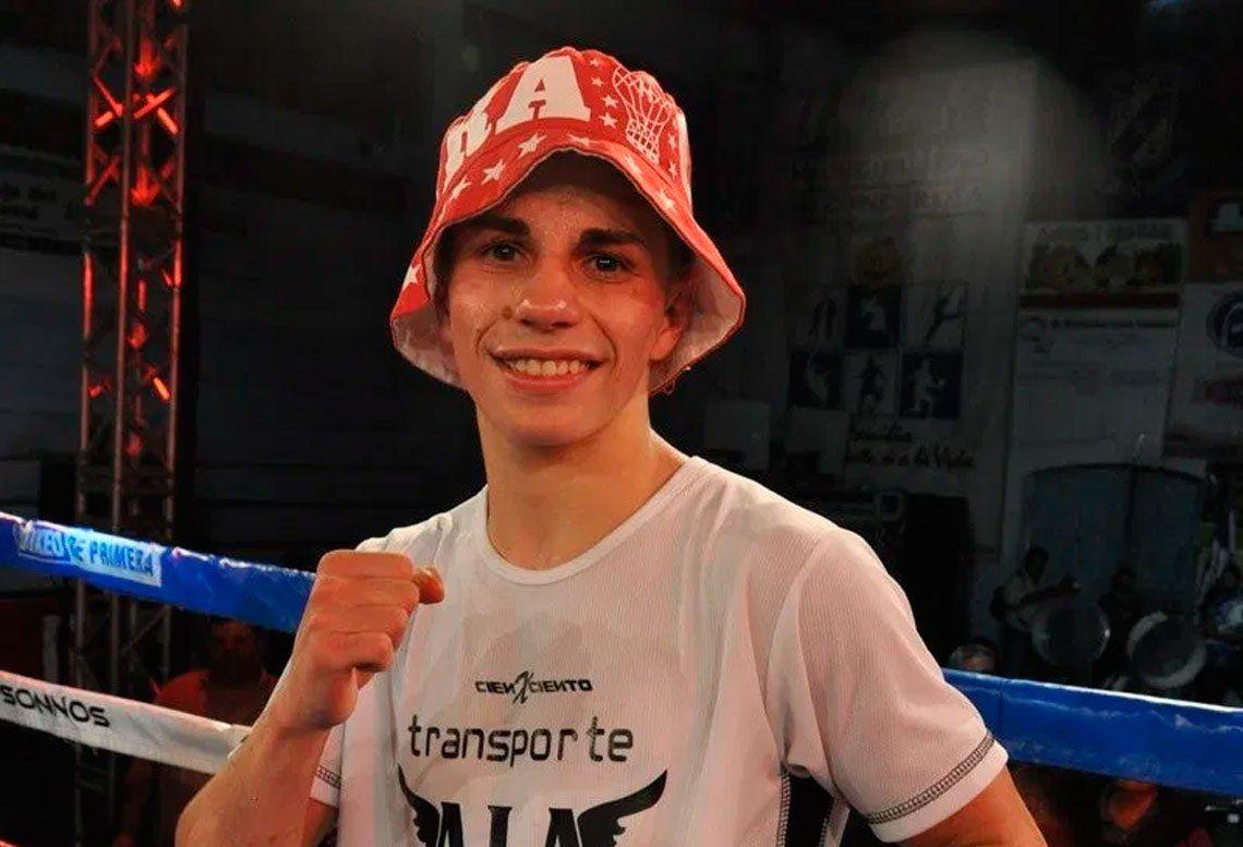 Agustín Gauto: la esperanza del boxeo argentino a merced del Coronavirus