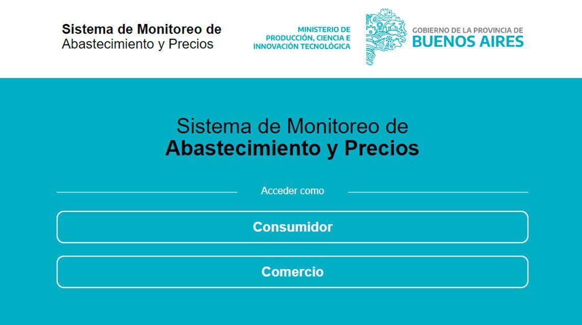 El Gobierno bonaerense lanzó una página web para controlar precios