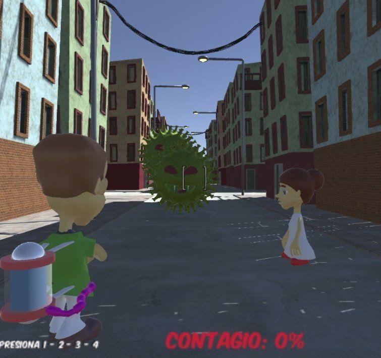 Corona Game: un juego para tomar conciencia