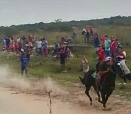 Organizaron carreras de caballos en Reconquista.