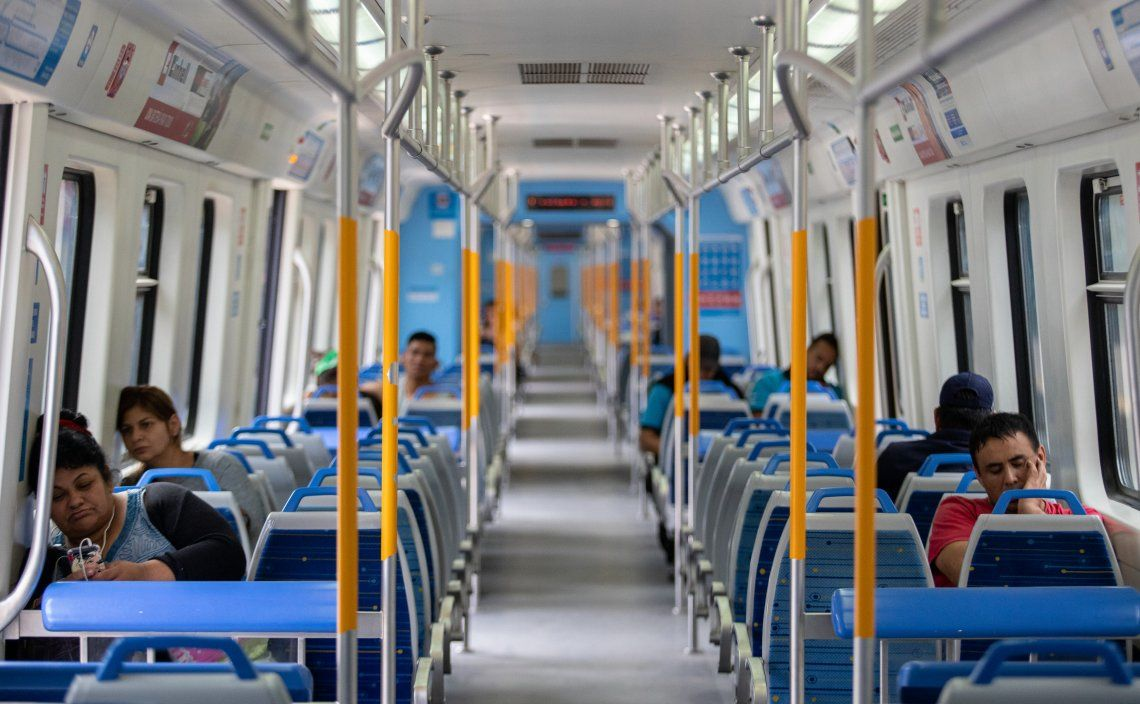 Coronavirus: disminuyó un 76% la cantidad de pasajeros en el transporte público desde el inicio de la cuarentena