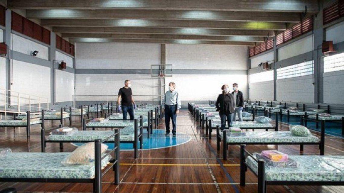 Coronavirus: se instalaron 115 camas en el estadio Kempes de Córdoba