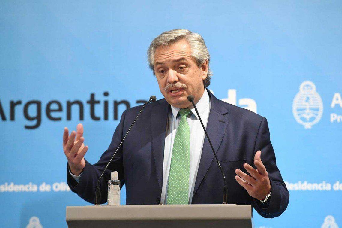 Alberto Fernández: Tenemos que trabajar unidos por la salud de cada argentino