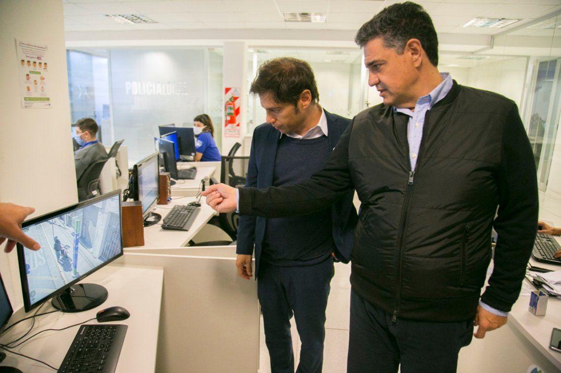 Jorge Macri articuló medidas preventivas con Kicillof y Berni