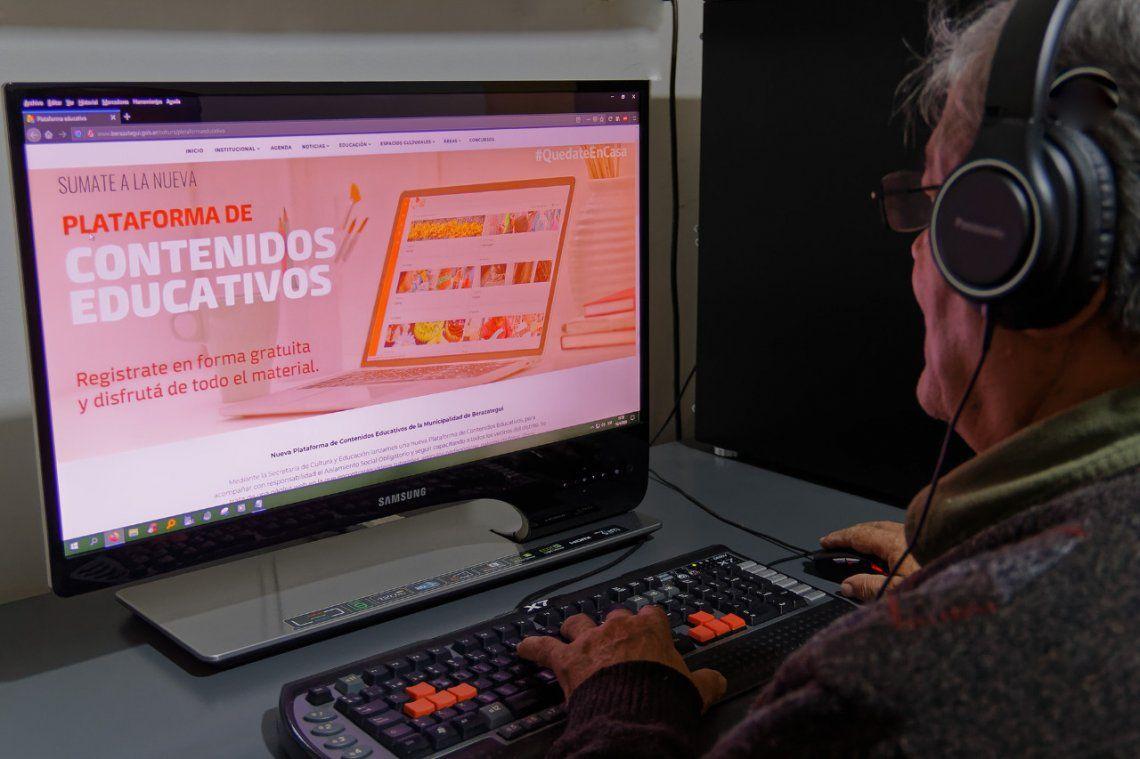 Berazategui: lanzan una plataforma gratuita de contenidos educativos