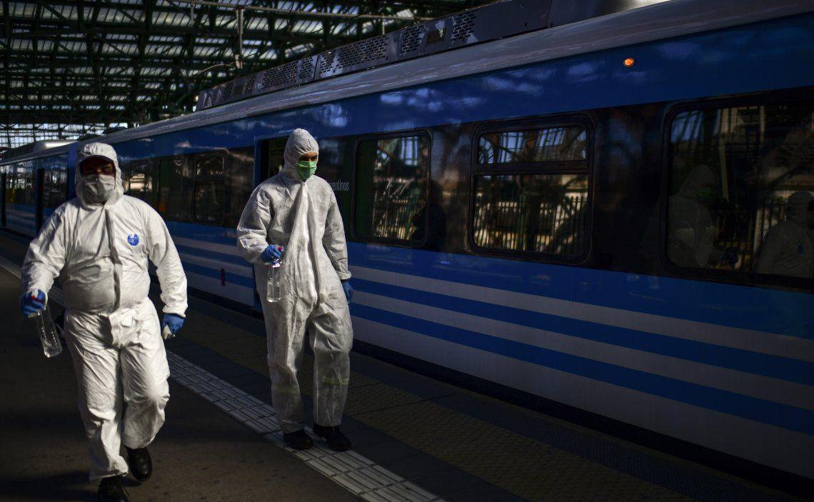 Coronavirus: Trenes Argentinos tiene más de 500 trabajadores con la enfermedad
