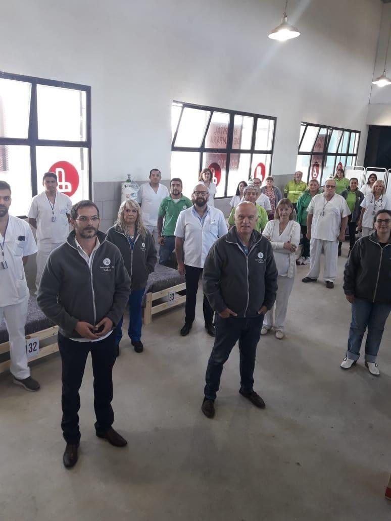Lanús: suman 40 trabajadores al equipo de salud para enfrentar la pandemia