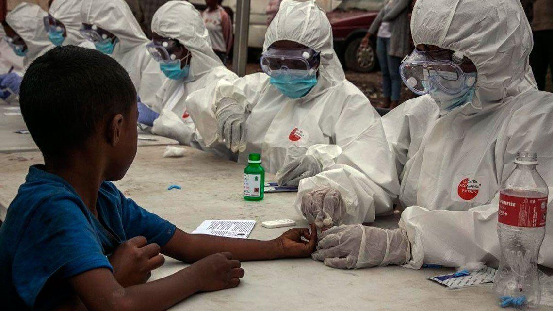 La OMS denunció la discriminación a África en la distribución de vacunas contra el Coronavirus.