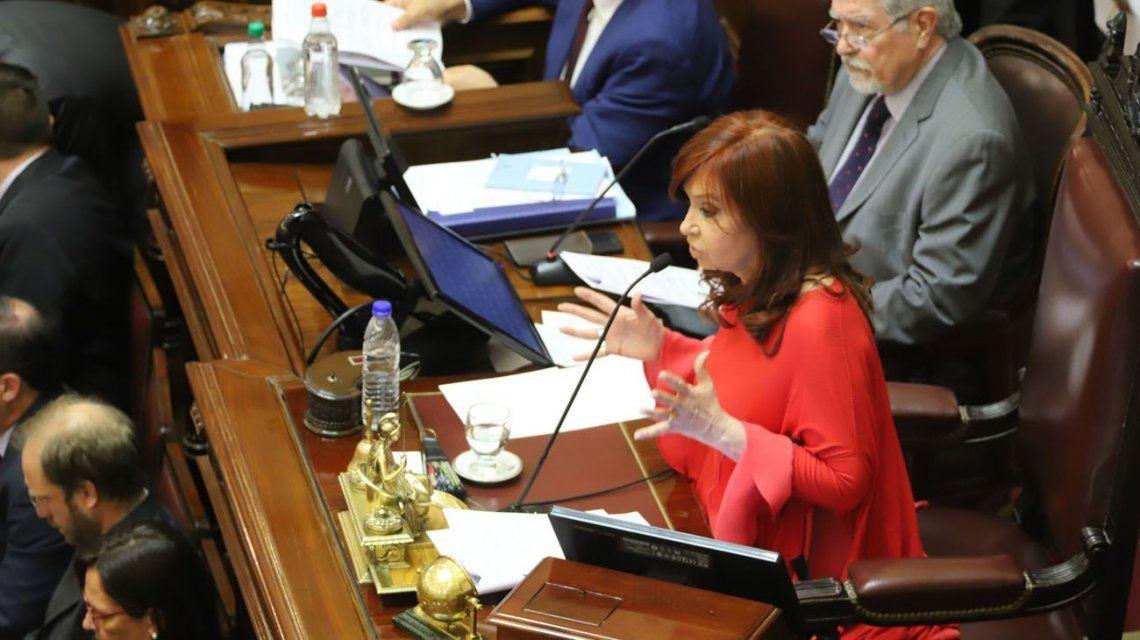 Sesiones virtuales: el Procurador General rechazó el pedido de Cristina Kirchner