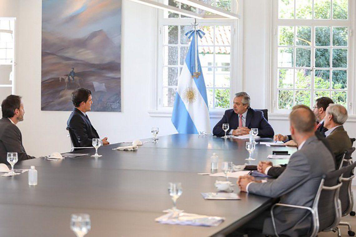 Reunión en Olivos: Alberto Fernández recibió el compromiso de la industria farmacéutica con las políticas del Estado