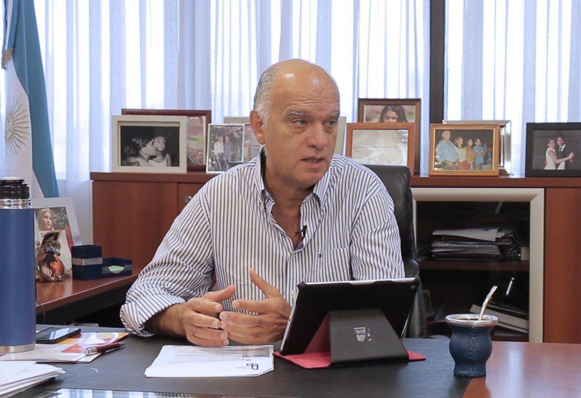 Otro intendente contagiado de coronavirus: Néstor Grindetti, de Lanús