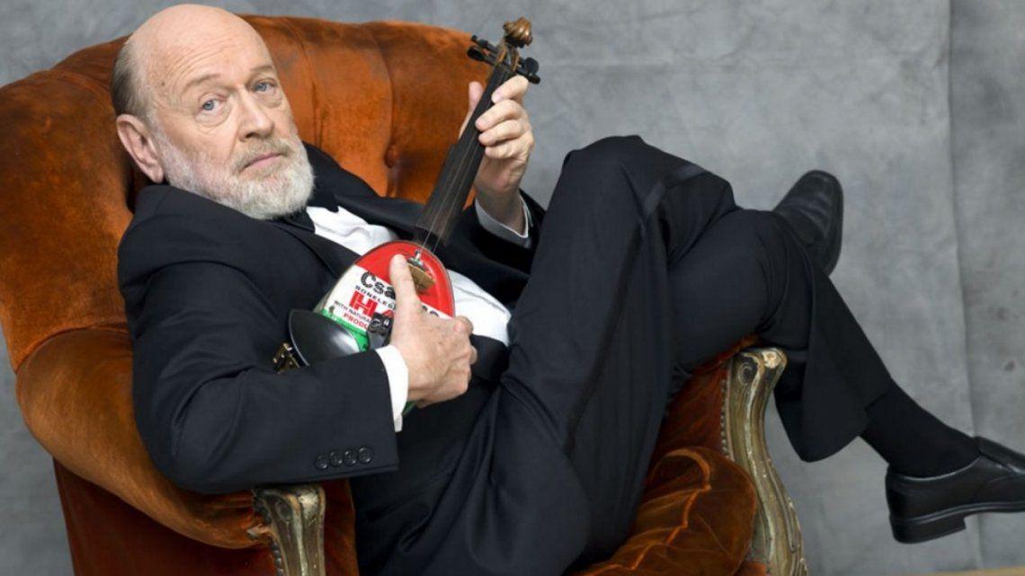 A los 77 años falleció Marcos Mundstock, histórico integrante de Les Luthiers