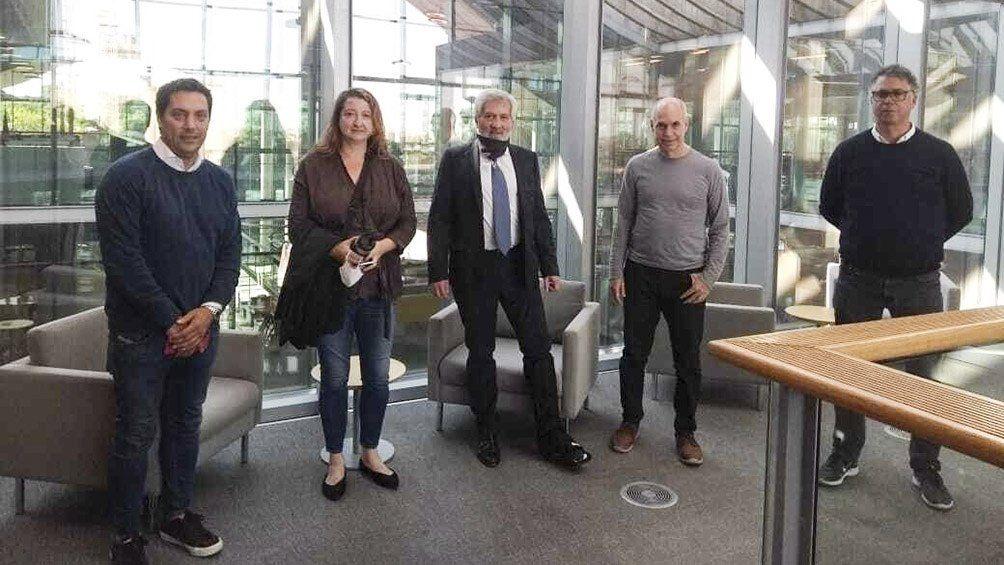 Rodríguez Larreta se reunió con legisladores del Frente de Todos