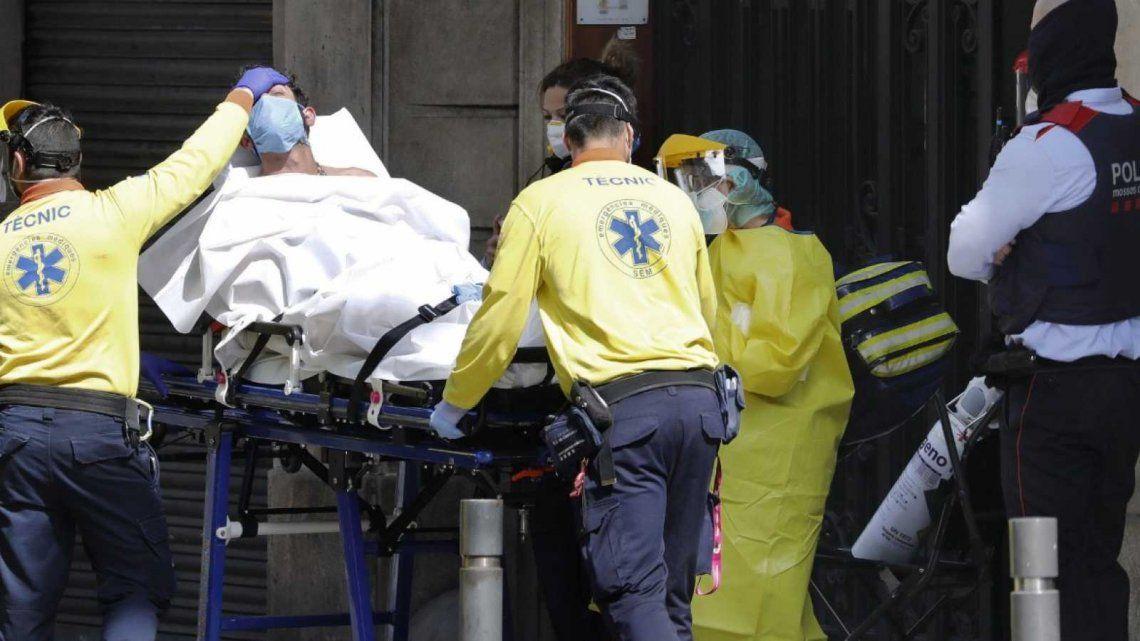 Coronavirus: España registró 435 muertes en 24 horas y se acerca a los 22 mil fallecimientos