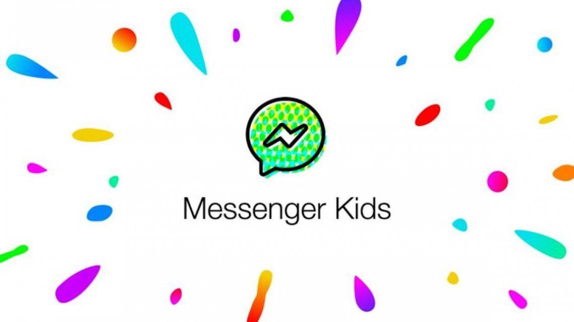 Messenger Kids, la app diseñada para que los más chicos chateen con familiares y amigos