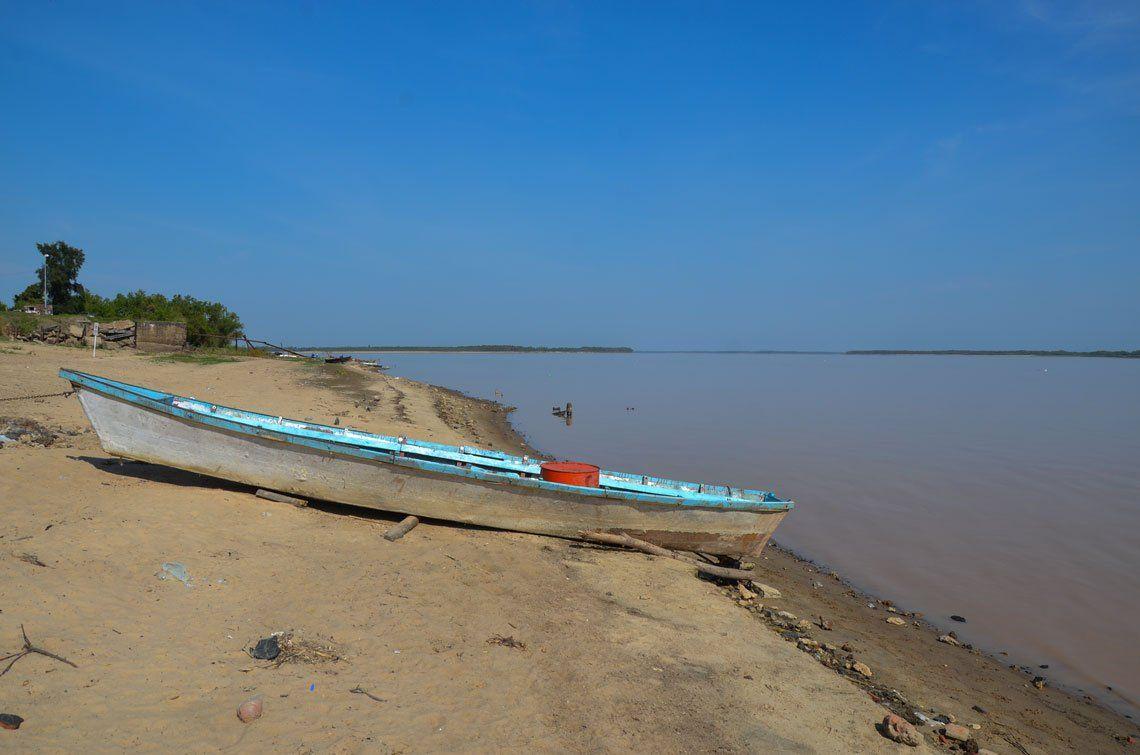 En fotos: bajante histórica del río Paraná