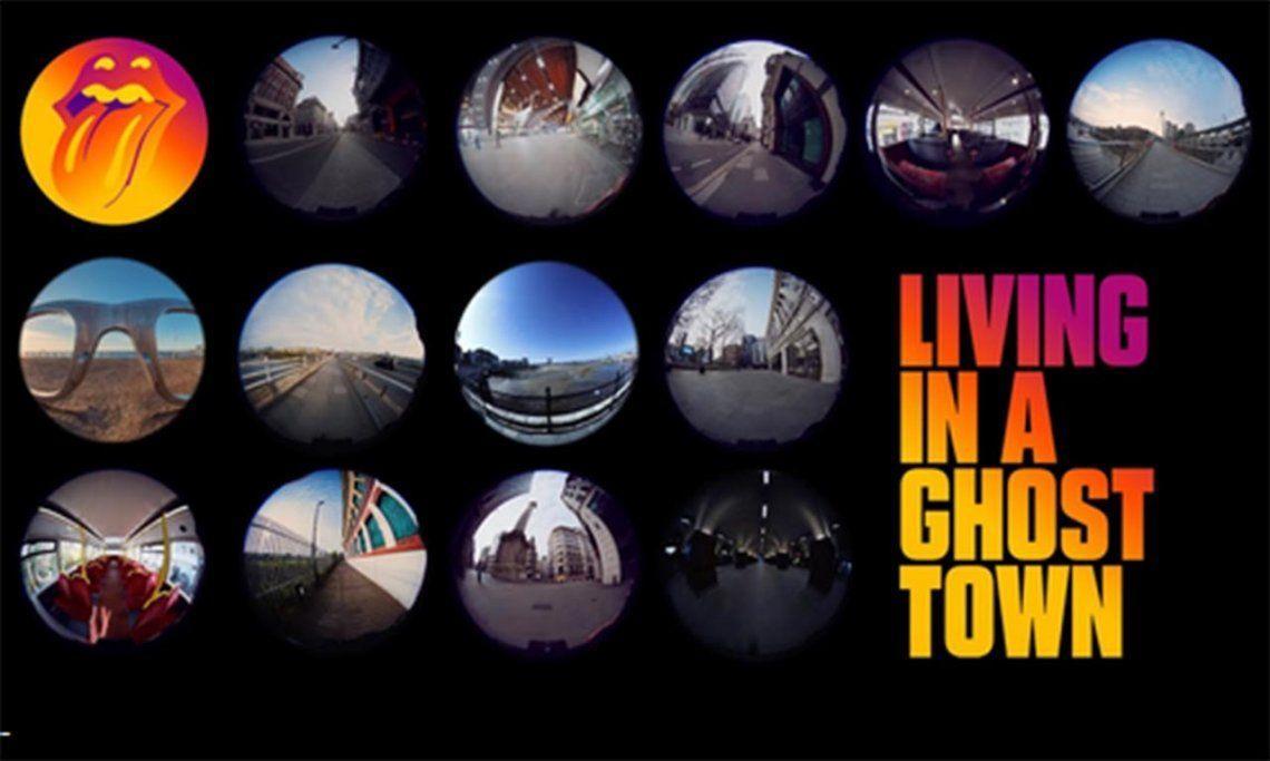 The Rolling Stones presenta su nueva canción, Living In A Ghost Town, grabada en medio de la pandemia