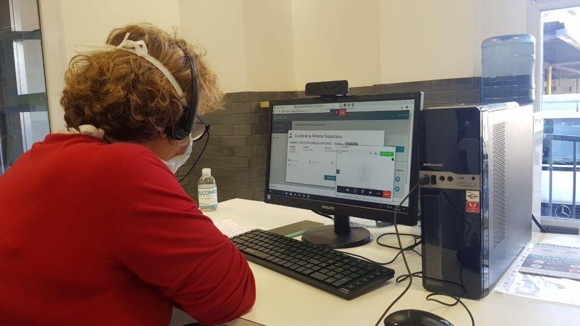 Coronavirus | Seguirán por videoconferencia a pacientes con casos leves en la Provincia de Buenos Aires