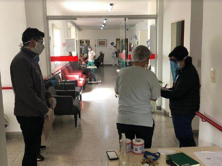 Operativos de prevención y concientización en geriátricos de Tigre
