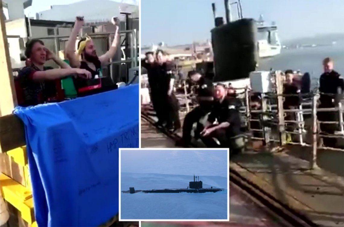 Investigan una fiesta en un submarino nuclear en plena cuarentena