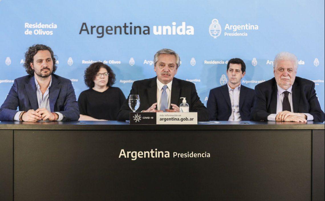 Alberto Fernández anunció que la cuarentena se extiende hasta el 10 de mayo: se podrá salir hasta una hora al día hasta 500 metros de casa