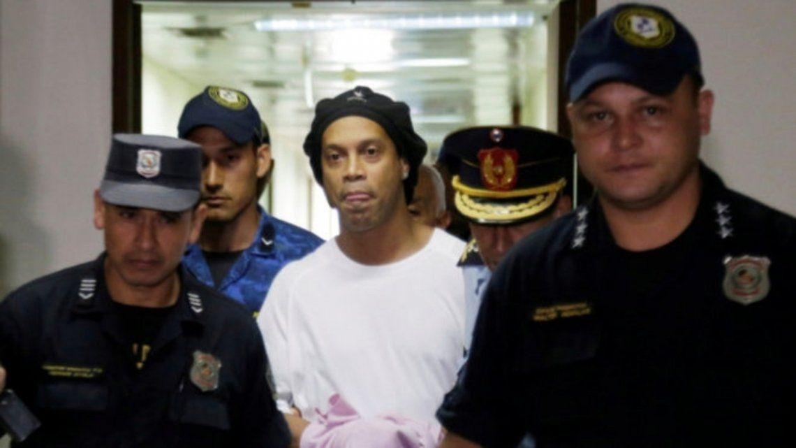 Ronaldinho y su dura experiencia en la cárcel de Paraguay
