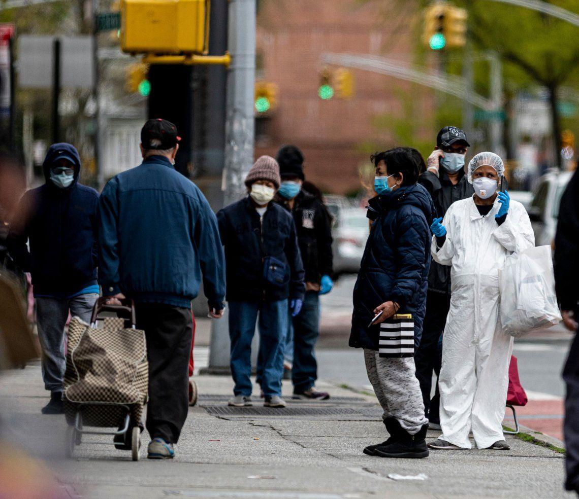 Gente caminando por Nueva York