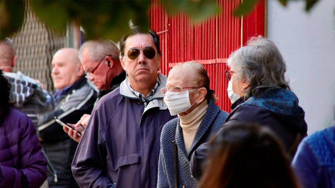 Jubilados y pensionados bonaerense cobran desde este miércoles sus haberes