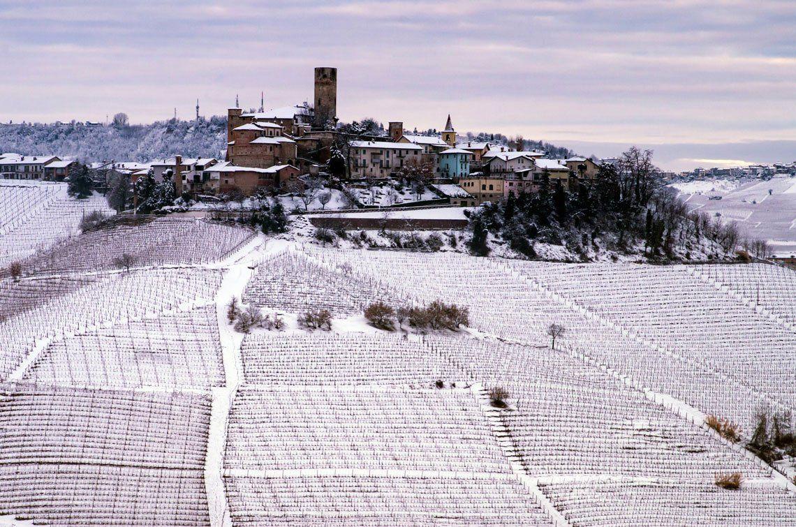 Fotógrafo de vinos del año |Lugares |Un invierno Langhe
