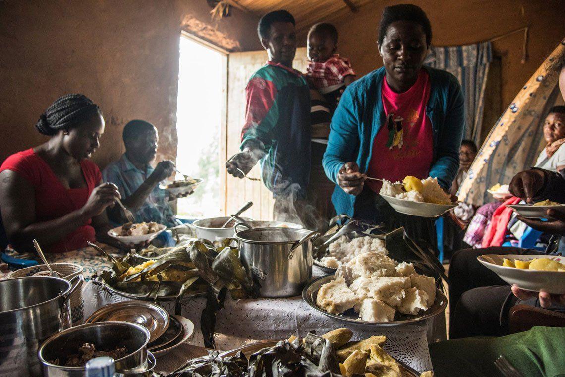 Comida para la vida |Una fiesta ugandesa