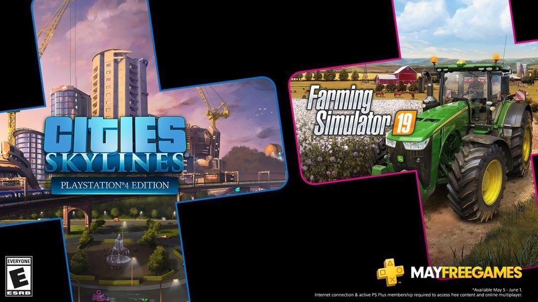PS Plus: cuáles serán los videojuegos gratis de mayo