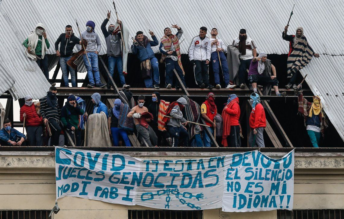 Los presos de Devoto realizaron un motín el viernes pasado y lograron sentarse a negociar con las autoridades.