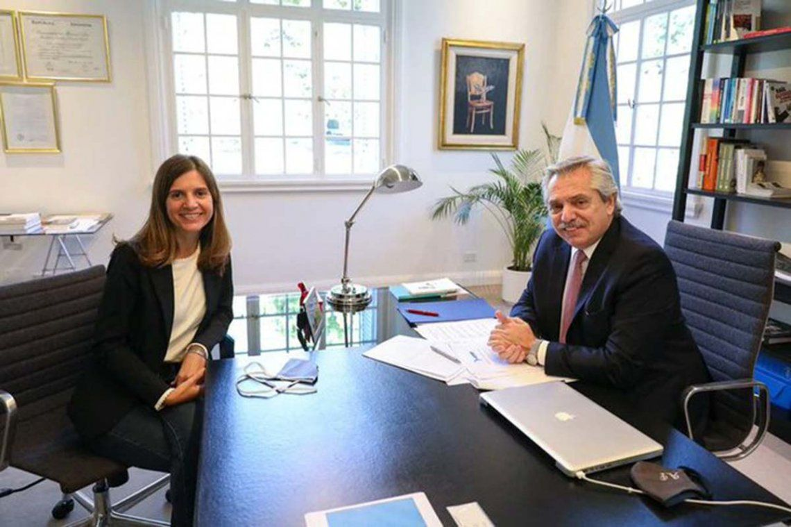 María Fernanda Raverta fue designada como la nueva titular de la ANSES
