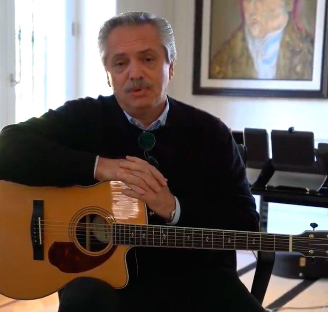 Alberto Fernández saludó a Bob Dylan por su cumpleaños: Tu poesía sigue soplando en el viento