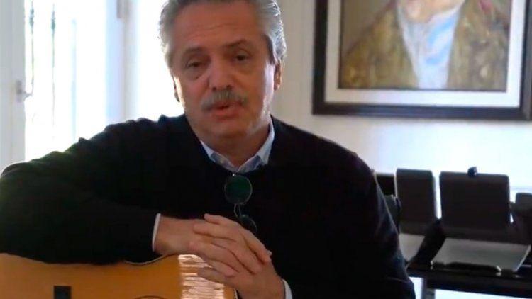 Alberto Fernández saludó a Bob Dylan por su cumpleaños