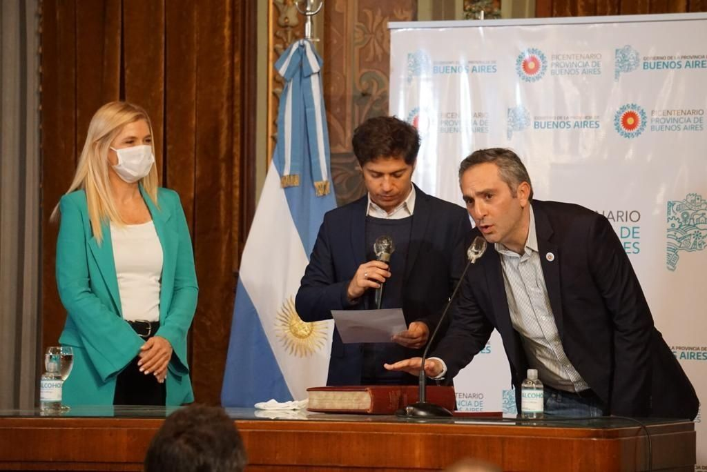 Andrés Larroque asumió como ministro bonaerense con la premisa de trabajar y trabajar