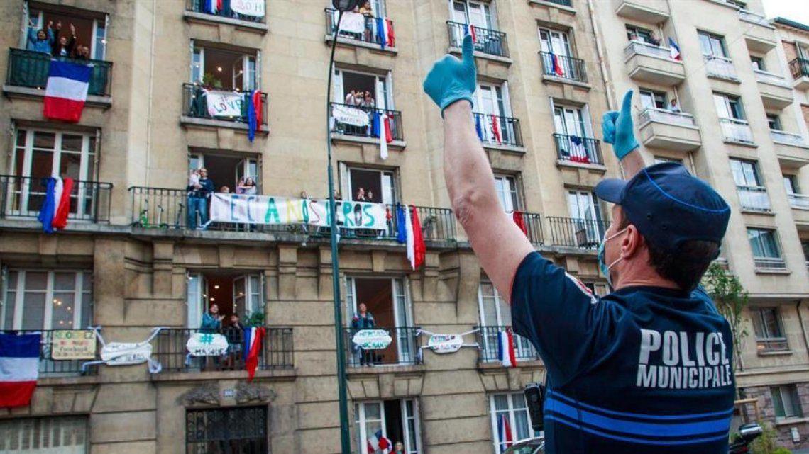 Francia constata un aumento moderado de la circulación del virus