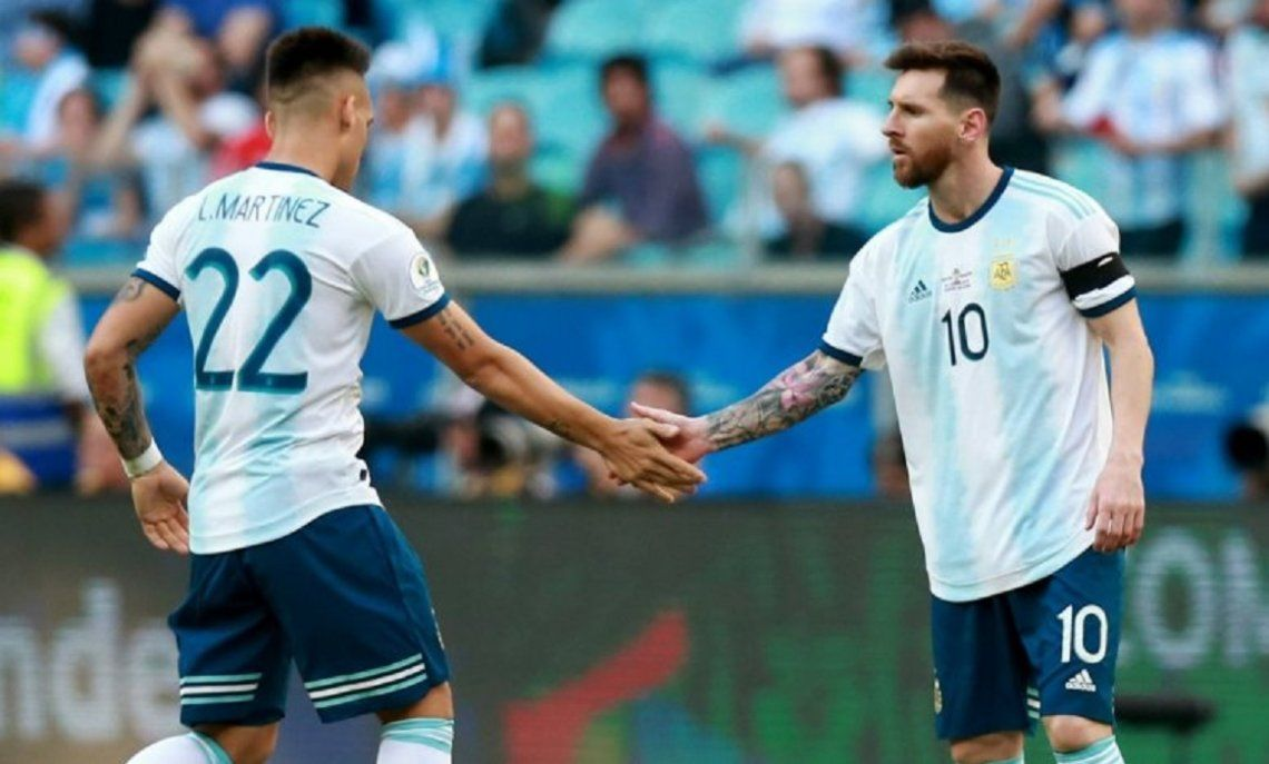 Hay un principio de acuerdo entre Barcelona e Inter: Messi y Lautaro Martínez, la dupla prometedora de la Selección, en el Barsa