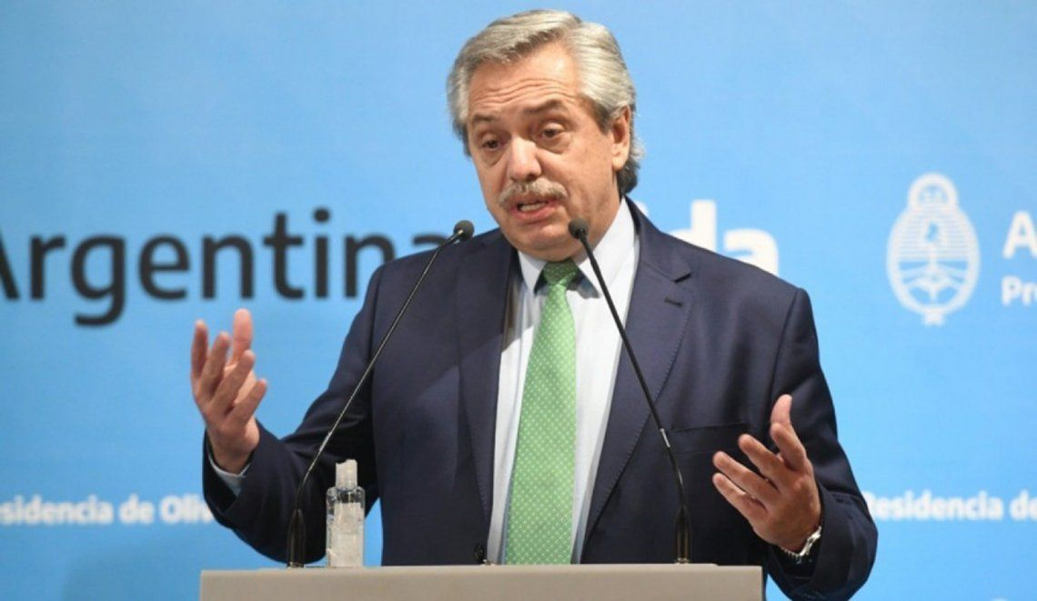 Alberto Fernández exhortó a unirse a los líderes progresistas para hacer un mundo más justo