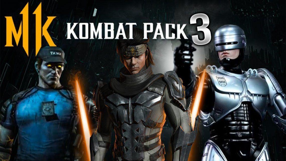Mortal Kombat 11: llega Robocop y retornan las Friendship
