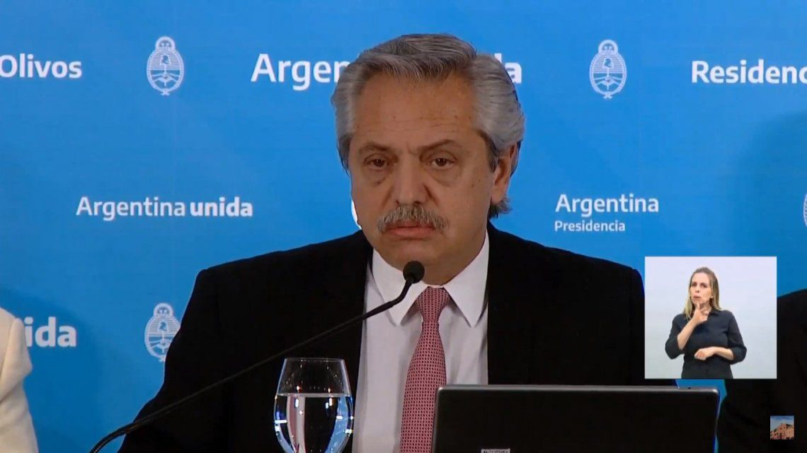 Fernández anunció la extensión de la cuarentena: «Toda la Argentina, salvo el AMBA, pasa a la Fase 4»