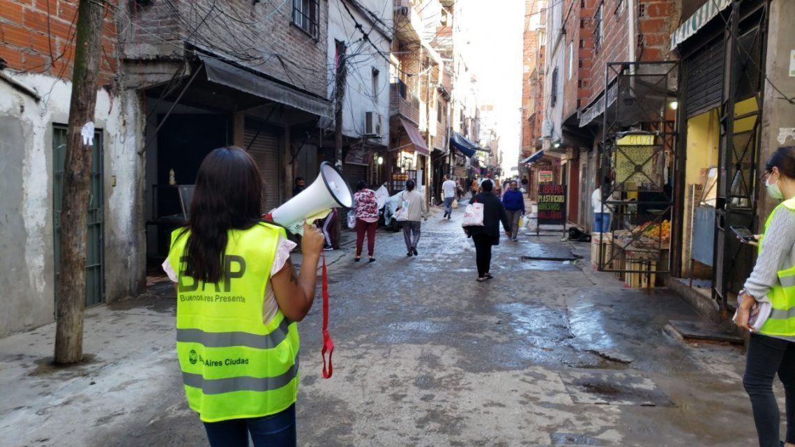 Coronavirus: lanzan un plan de detección temprana en barrios populares