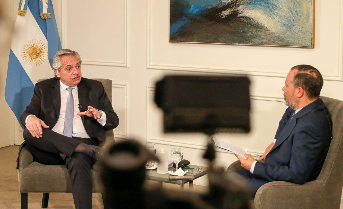 Alberto Fernández afirmó que la oposición destruyó la economía del país sin ningún virus