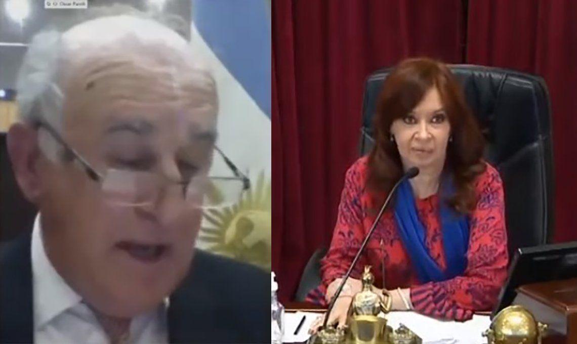 Picante cruce entre Cristina Kirchner y Oscar Parrilli por el macrismo