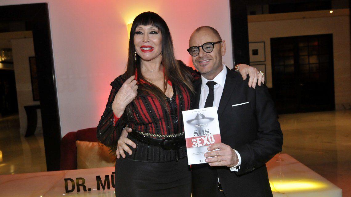 El Dr. Mühlberger con su paciente más famosa