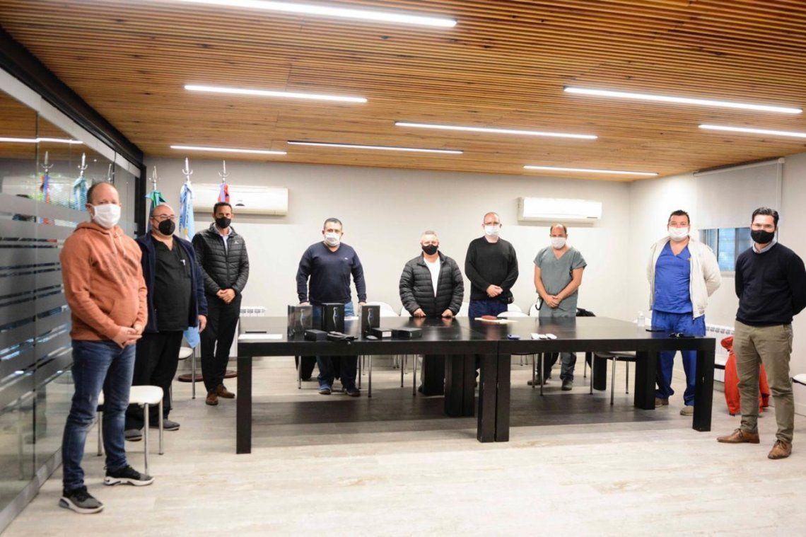 Lomas de Zamora recibió tres ecógrafos portátiles