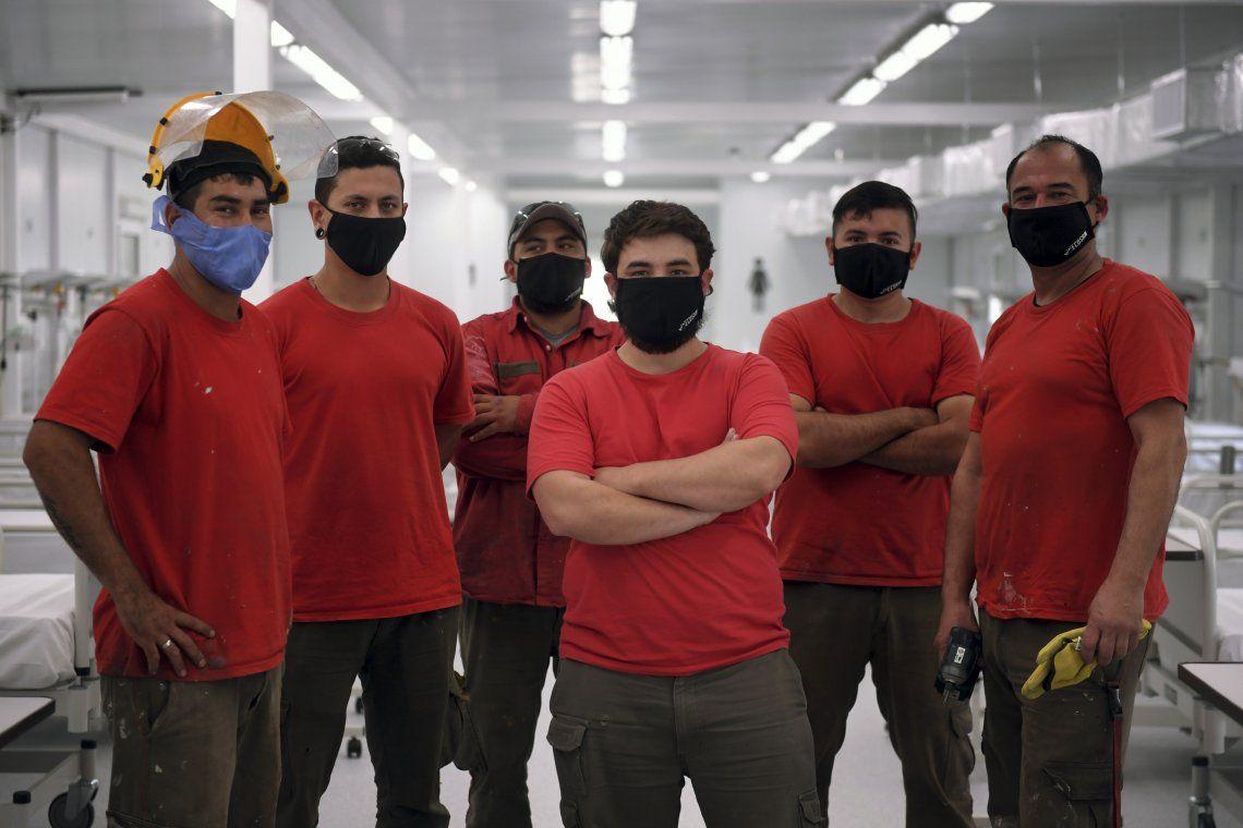 Coronavirus: más de 40 obreros convivieron dos semanas en un hotel alojamiento para construir un hospital modular en Florencio Varela