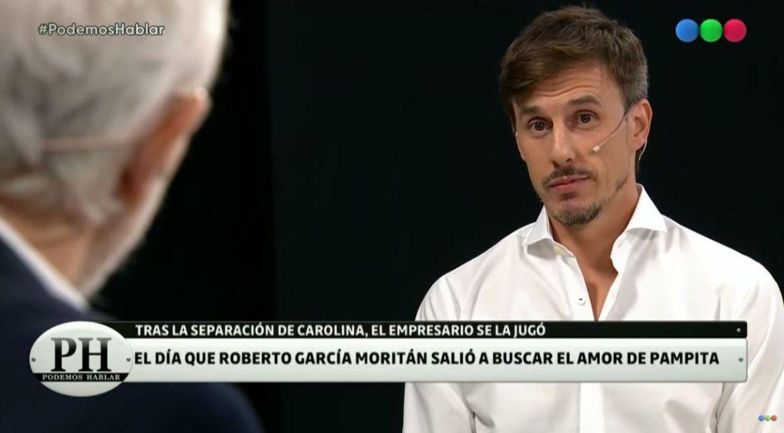 García Moritán contó cómo se le animó a Pampita